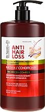 Парфюмерия и Козметика Балсам за изтощена и склонна към косопад коса (с дозатор) - Dr. Sante Anti Hair Loss Balm