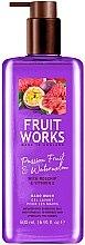 """Парфюмерия и Козметика Сапун за ръце """"Маракуя и Диня"""" - Grace Cole Fruit Works Hand Wash Passion Fruit & Watermelon"""