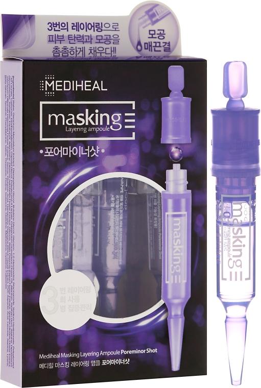 Ампули за лице - Mediheal Masking Layering Ampoule Poreminor Shot