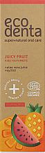 Парфюмерия и Козметика Детска паста за зъби - Ecodenta Cosmos Organic Juicy Fruit