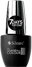Парфюмерия и Козметика Топ лак - Silcare The Garden of Colour Top Coat 7days