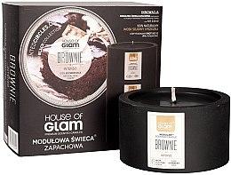 Парфюми, Парфюмерия, козметика Ароматна свещ - House of Glam Brownie Intenso Candle