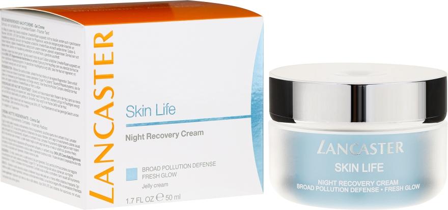 Възстановяващ нощен крем за лице - Lancaster Skin Life Night Recovery Cream — снимка N1