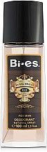 Парфюми, Парфюмерия, козметика Bi-Es Royal Brand Gold - Парфюмен дезодорант спрей
