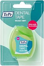 Парфюмерия и Козметика Конец за зъби, 40 м - TePe Dental Tape Waxed Mint