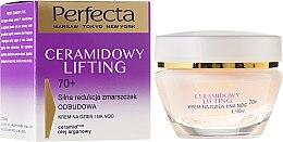 Парфюмерия и Козметика Антистареещ крем за лице - Perfecta Ceramid Lift 70+ Face Cream