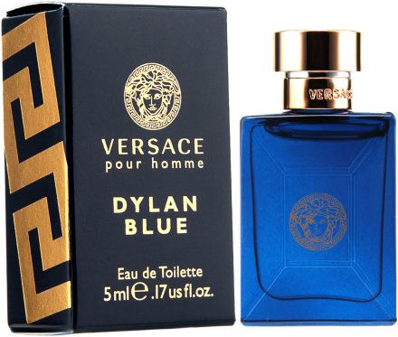 Versace Pour Homme Dylan Blue - Тоалетна вода ( мини )  — снимка N2