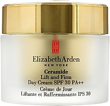 Парфюми, Парфюмерия, козметика Укрепващ дневен лифтинг крем за лице - Elizabeth Arden Ceramide Lift and Firm Day Cream SPF 30 (тестер)