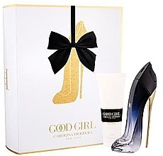 Парфюми, Парфюмерия, козметика Carolina Herrera Good Girl Legere - Комплект (парф. вода/80ml + лосион за тяло/100ml)
