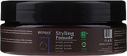 Парфюмерия и Козметика Моделираща помада за коса - BioMan Styling Pomade