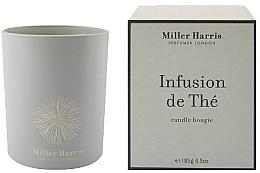 Парфюмерия и Козметика Miller Harris Infusion De The - Парфюмна свещ