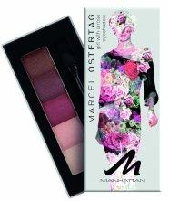 Парфюмерия и Козметика Сенки - Manhattan Eyeshadow Palette By Marcel Ostertag