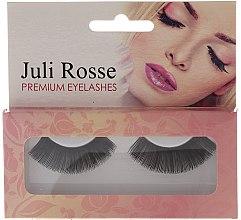 Парфюмерия и Козметика Изкуствени мигли - Juli Rosse Premium Eyelashes N100