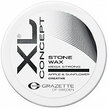 Парфюмерия и Козметика Матов восък за коса с много силна фиксация - Grazette XL Concept Stone Wax