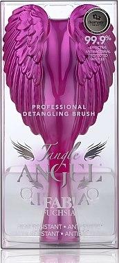 Четка за коса - Tangle Angel Brush FAB! Fuchsia (18.7 см) — снимка N3