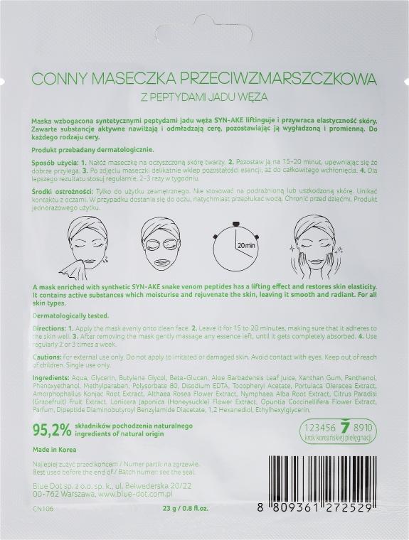 """Маска за лице """"Змийска отрова"""" - Conny Syn-Ake Essence Mask — снимка N2"""