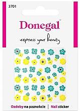 Парфюмерия и Козметика Декориращи лепенки за нокти, 3701 - Donegal