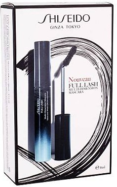 Комплект спирала за мигли, флуид и червило за устни - Shiseido Full Lash Multi-Dimension Mascara Kit (mascara/8ml + fluid/1ml + lipstick/2,5ml) — снимка N1