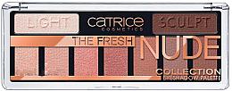 Парфюми, Парфюмерия, козметика Палитра сенки за очи - Catrice The Fresh Nude Collection Eyeshadow Palette