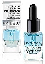 Парфюмерия и Козметика Двуфазен серум за нокти - Artdeco Hyaluronic Bi-Phase Nail Serum