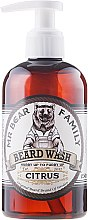 Парфюми, Парфюмерия, козметика Шампоан за брада - Mr. Bear Family Beard Wash Citrus