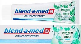 Парфюмерия и Козметика Паста за зъби - Blend-a-med Complete Fresh Extra White & Fresh