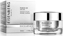 Парфюми, Парфюмерия, козметика Изсветляващ и ревитализиращ дневен крем за лице - Jose Eisenberg Energie Or Soin Jour