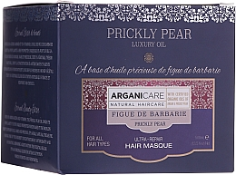 Парфюмерия и Козметика Ултра-възстановяваща маска за коса с опунция - Arganicare Prickly Pear Ultra-Repair Hair Mask