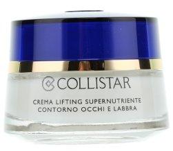 Парфюми, Парфюмерия, козметика Крем за контур около очите и устните - Collistar Supernourishing Lifting Cream Eye and Lip