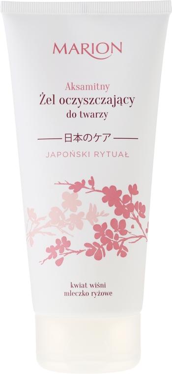 Почистващ гел за лице - Marion Japanese Ritual Velvet Cleansing Gel For Face