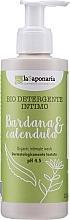 Парфюмерия и Козметика Гел за интимна хигиена с репей и невен - La Saponaria Burdock & Calendula Intimate Wash