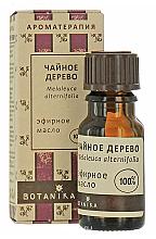 """Парфюмерия и Козметика Етерично масло """"Чаено дърво"""" - Botanika Tea Tree Essential Oil"""