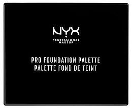 Парфюми, Парфюмерия, козметика Палитра за грим - NYX Professional Makeup Pro Foundation Palette