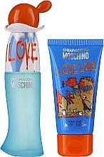 Парфюмерия и Козметика Moschino I Love Love - Комплект (тоал. вода/30ml + лос. за тяло/50ml)