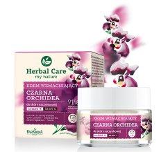 """Парфюми, Парфюмерия, козметика Укрепващ крем за лице """"Черна орхидея"""" - Farmona Herbal Care"""
