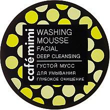 """Парфюми, Парфюмерия, козметика Гъст измиващ мус за лице """"Дълбоко почистване"""" - Cafe Mimi Washing Mousse Facial Deep Cleaning"""