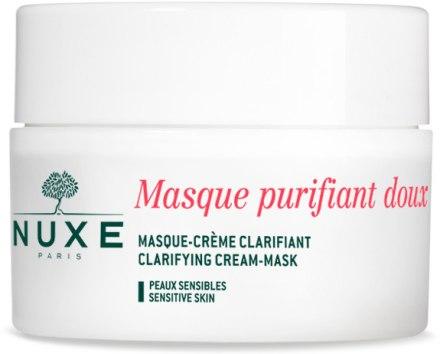 Почистваща крем маска с розови листенца за лице и деколте - Nuxe Clarifying Cream-Mask With Rose Petals