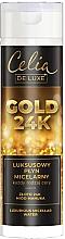 Парфюмерия и Козметика Луксозна мицеларна вода - Celia De Luxe Gold 24k