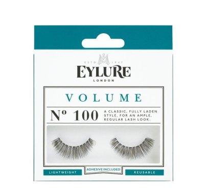 Изкуствени мигли №100 - Eylure Pre-Glued Volume — снимка N1