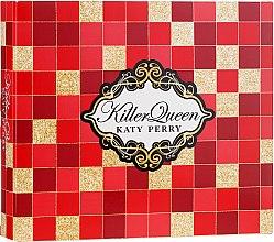 Парфюмерия и Козметика Katy Perry Killer Queen - Комплект (душ гел/75ml + лосион за тяло/75ml + парф. вода/30ml)