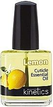 """Парфюми, Парфюмерия, козметика Масло за нокти и кожички """"Лимон"""" - Kinetics Lemon Cuticle Oil"""