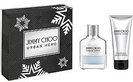 Парфюмерия и Козметика Jimmy Choo Urban Hero - Комплект (парф. вода/50ml + душ гел/100ml)