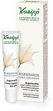 Парфюмерия и Козметика Регенериращ околоочен крем за зряла кожа - Kneipp Regeneration Eyes Cream