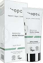 Парфюмерия и Козметика Мицеларен шампоан за мазна коса - Yappco Balancing Hair Micellar Shampoo