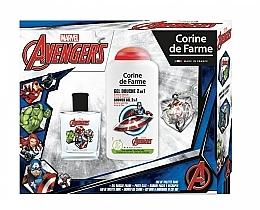 Marvel The Avengers - Комплект (тоал. вода/50ml + душ гел/250ml) — снимка N1