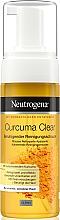 Парфюмерия и Козметика Почистваща пяна с екстракт от куркума - Neutrogena Curcuma Clear Mousse Clenser