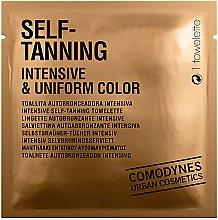 Парфюмерия и Козметика Бронзираща кърпичка с интензивен цвят - Comodynes Self-Tanning Intensive & Uniform Color