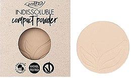 Парфюми, Парфюмерия, козметика Компактна пудра за лице - PuroBio Cosmetics Compact Powder (пълнител)