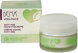 Парфюми, Парфюмерия, козметика Антивъзрастов крем за лице - Bema Cosmetici Bema Love Bio Anti-Age Cream Visage