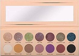 Парфюмерия и Козметика Палитра сенки за очи със 14 цвята - Pierre Rene Palette Match System Eyeshadow Pinch Me